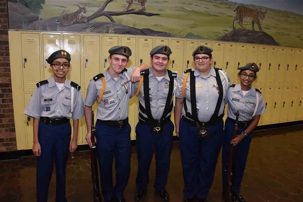 Veterans Day at Bonnette Junior High
