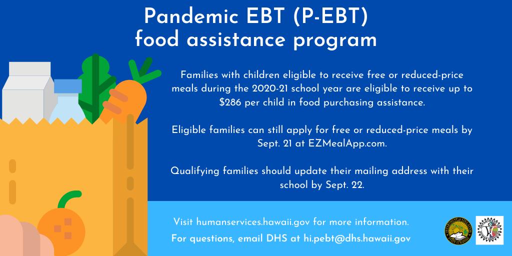 Pandemic EBT Round 2