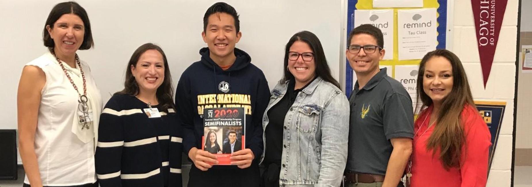 David Li, Semi-Finalist for National Merit Scholarship