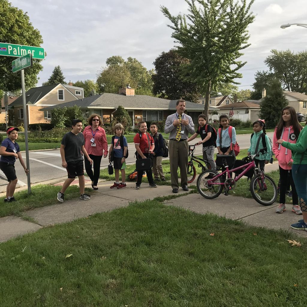Fullerton Walk to School Day