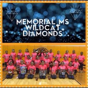 Image of: 2018-2019 Memorial Middle School Diamonds.