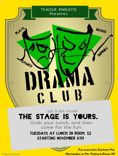 Teague Drama Club
