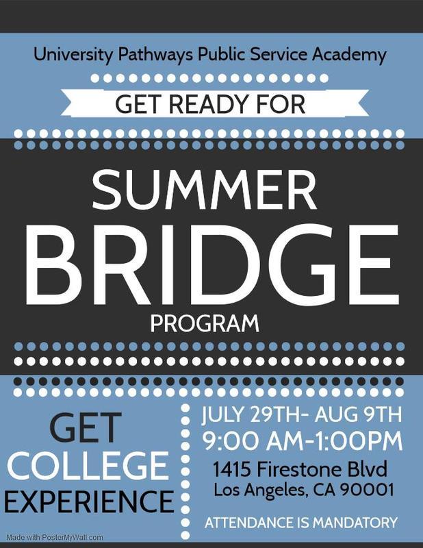 Summer Brigde Program Featured Photo