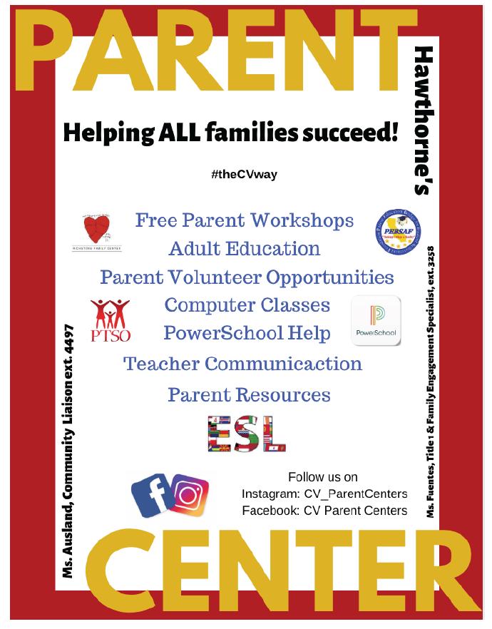 Parent Center Flier