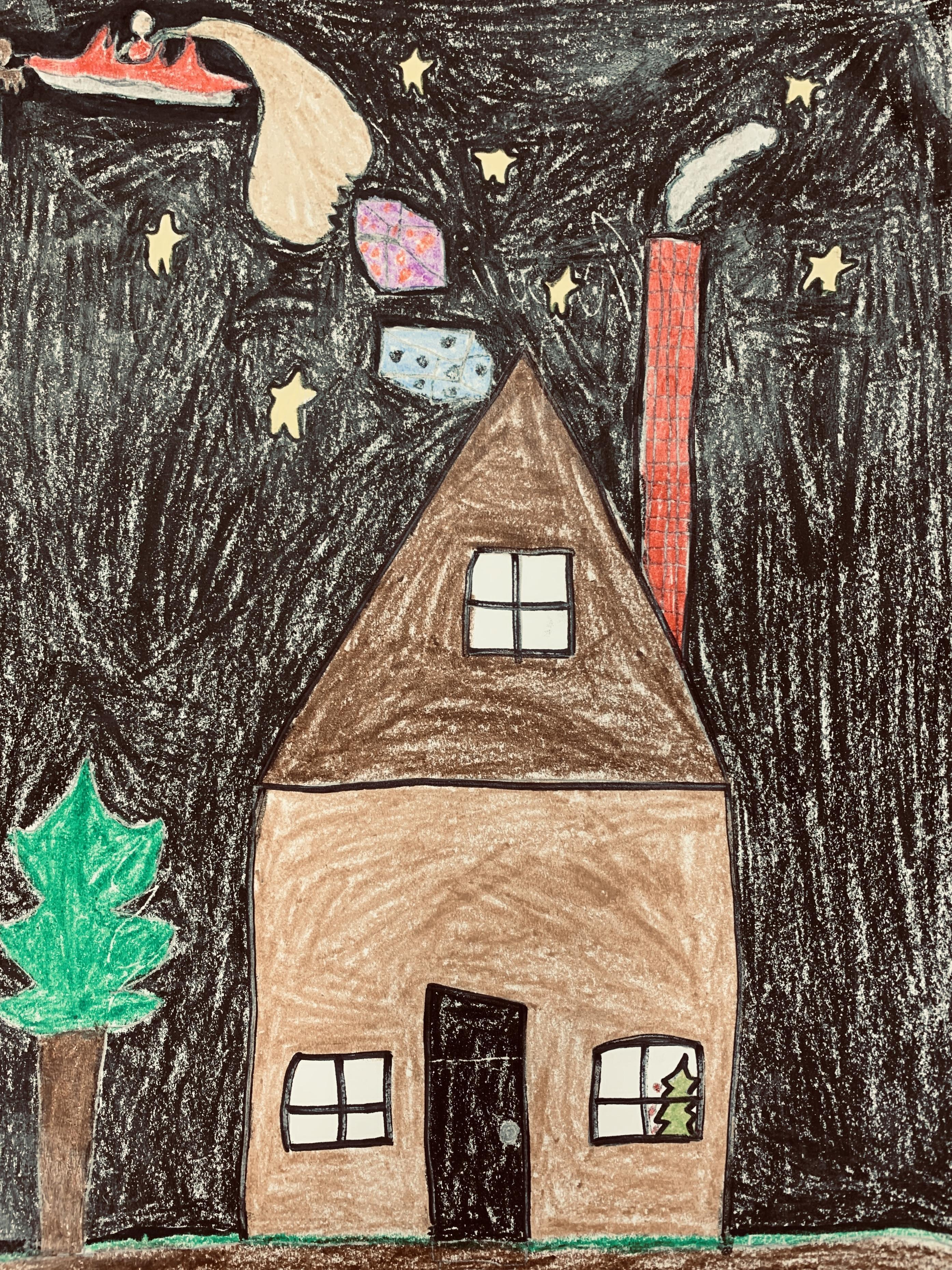 Holiday Card:  Mason Keen, Oak Grove Middle