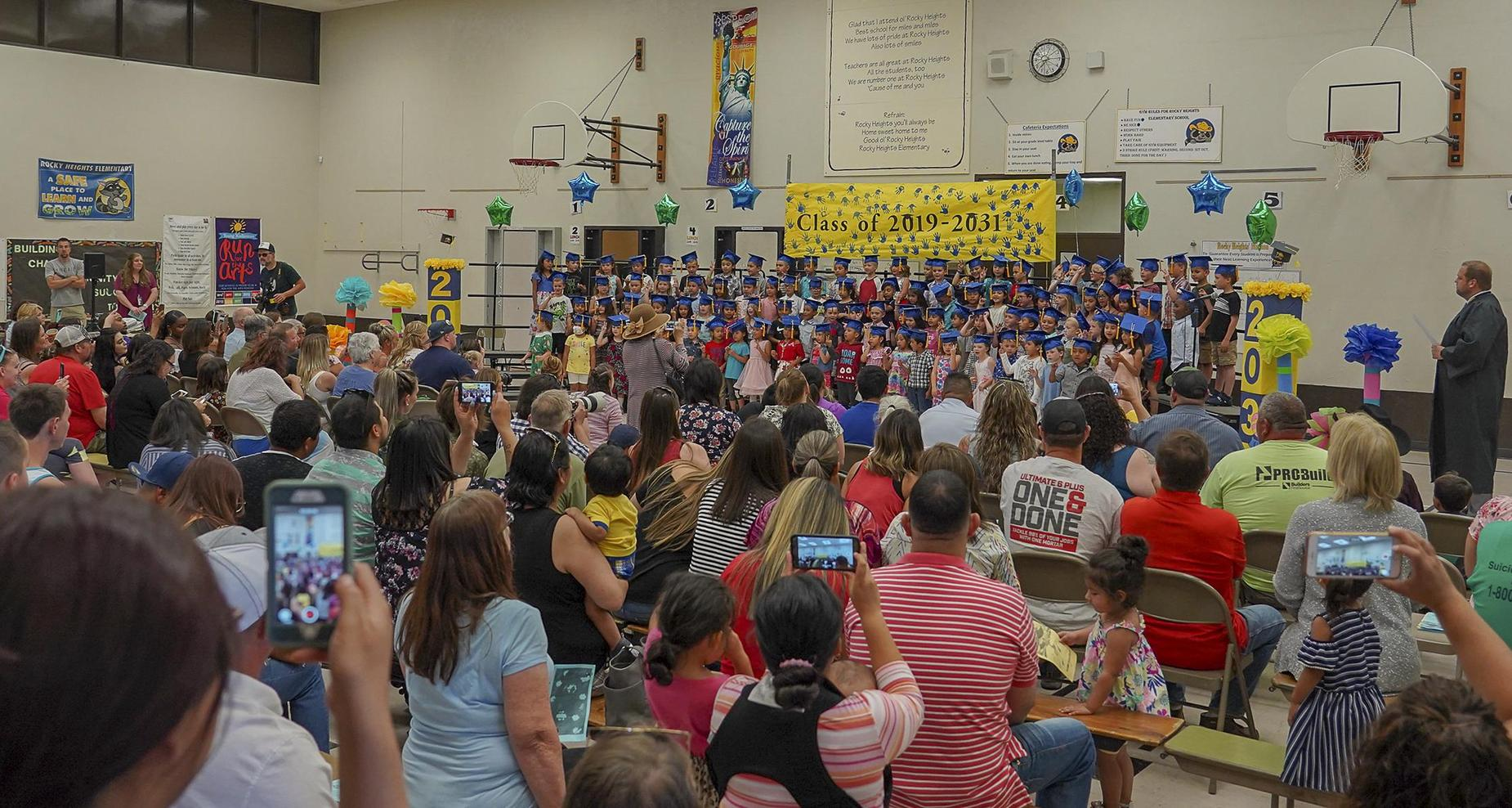 Rocky Heights Kinder Graduation