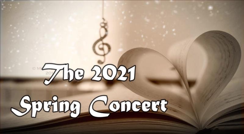 Spring Concert Video title still
