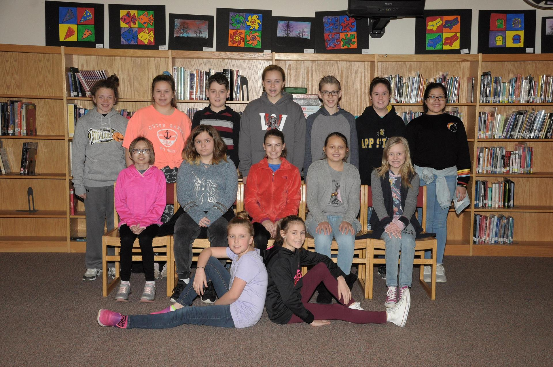 Image of 6th grade ambassadors
