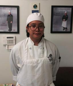 Sierra Vista High School senior Angela Chandara received three Careers Through Culinary Arts Program scholarships, totaling $4,000, to go toward the post-secondary culinary program of her choice.