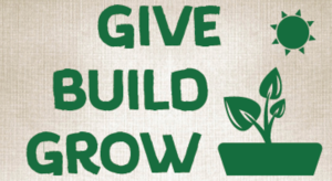 Give Build Grow Logo