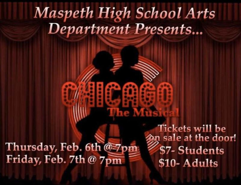Maspeth High Arts Department Presents . . . Chicago - The Musical Featured Photo
