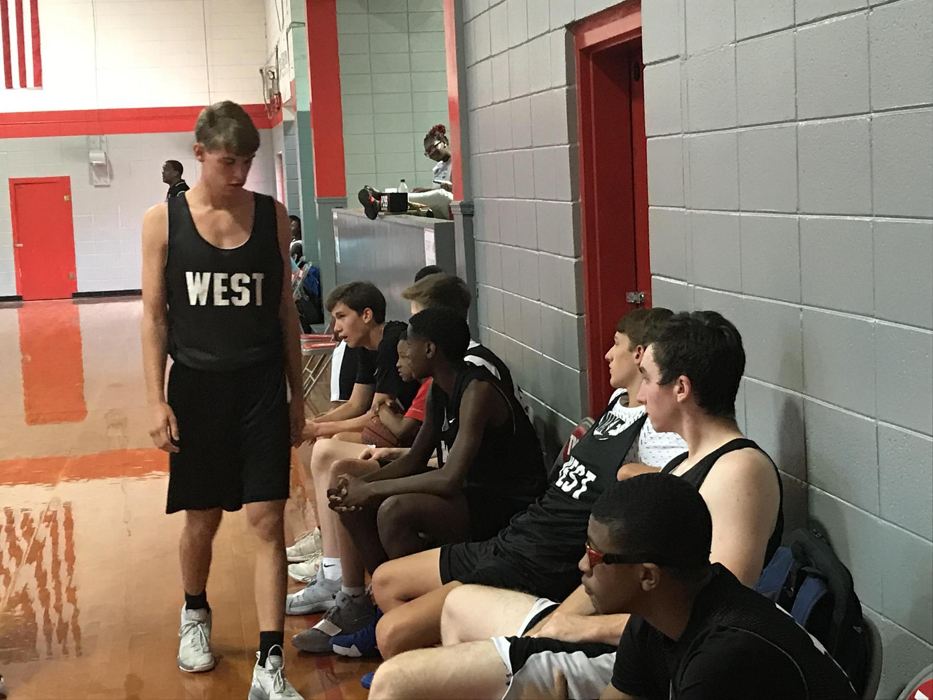 West Lauderdale High School Basetball Players