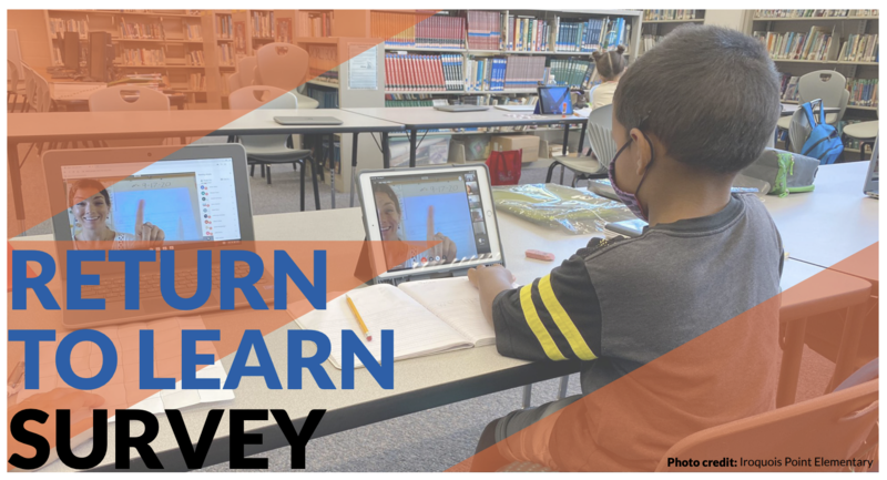 Return to Learn survey for secondary students and families Thumbnail Image