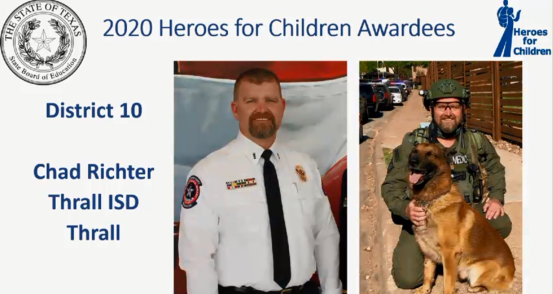 Chad Richter Selected as Hero for Children! Thumbnail Image