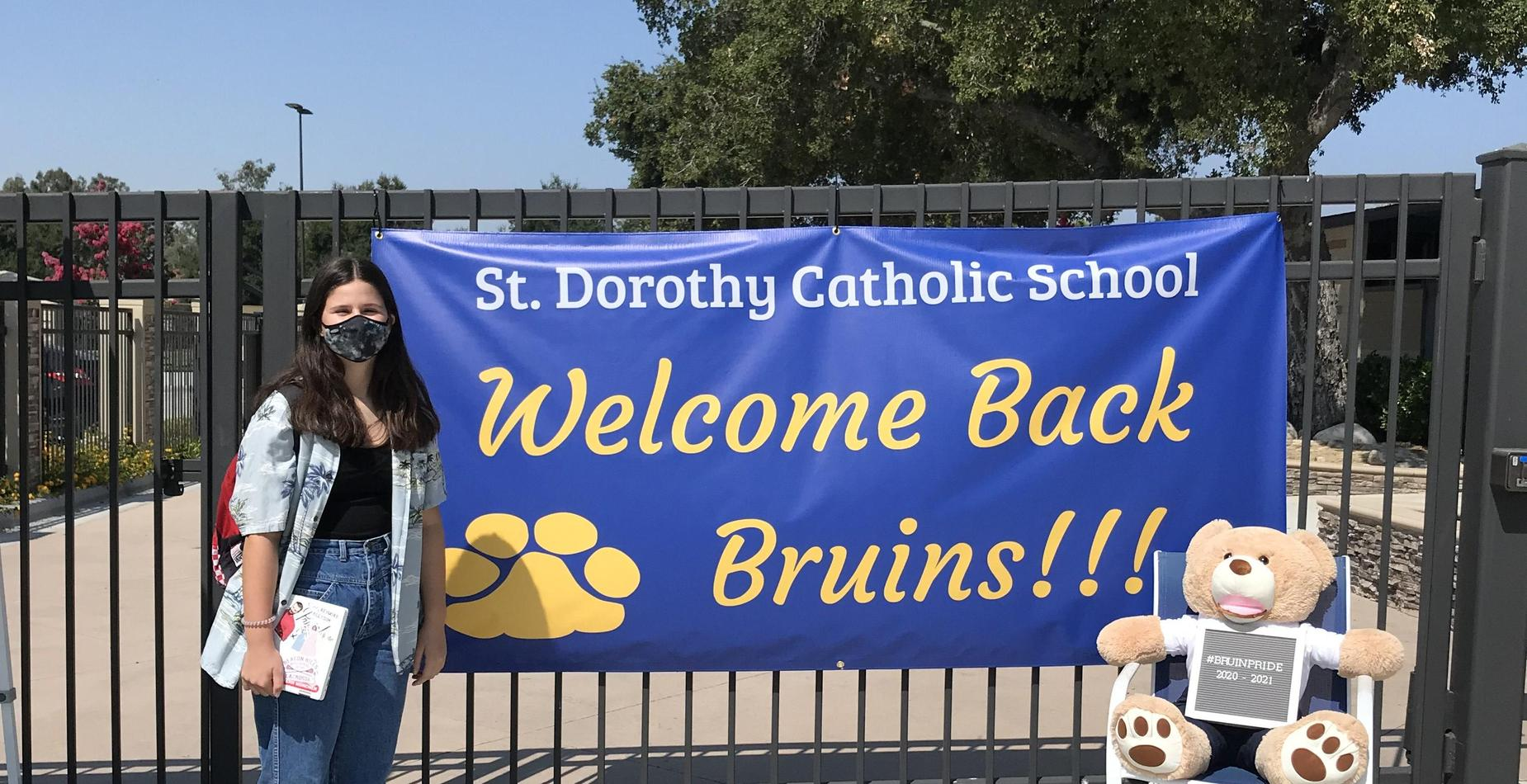 Students welcomed back to school