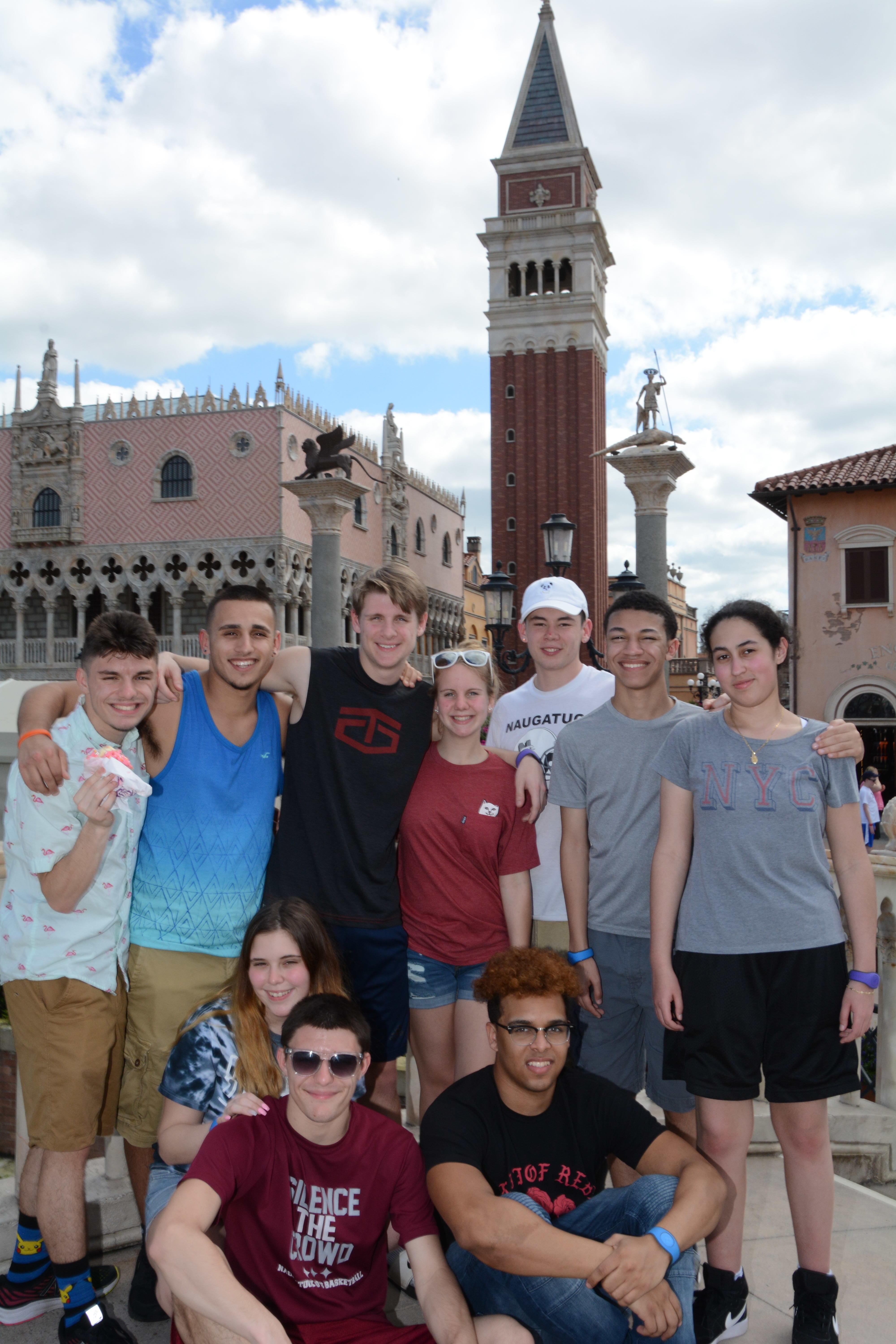 Students explore the world at EPCOT