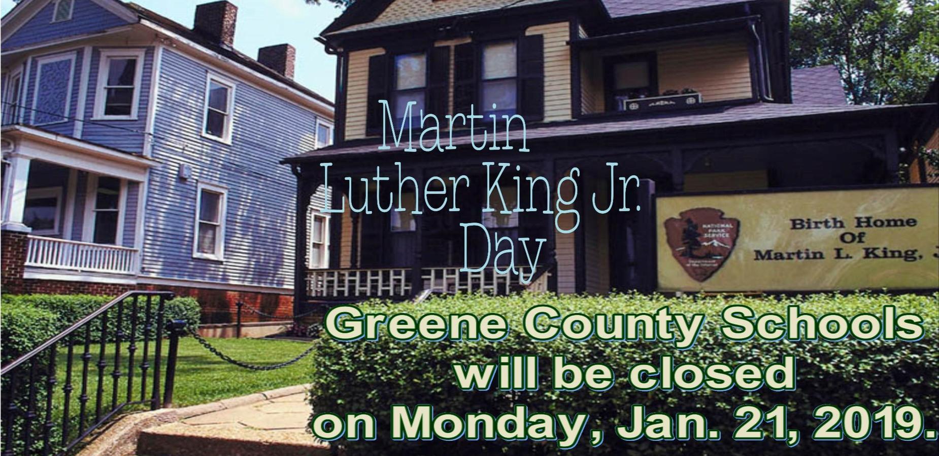 Martin Luthur King, Jr. Day