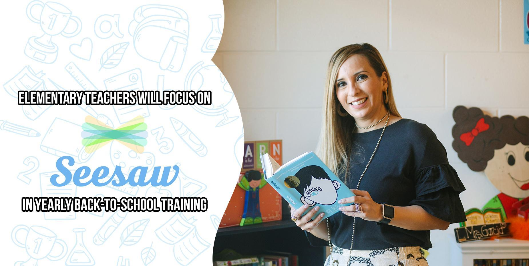 Elementary teachers will focus on Seesaw in yearly back-to-school training