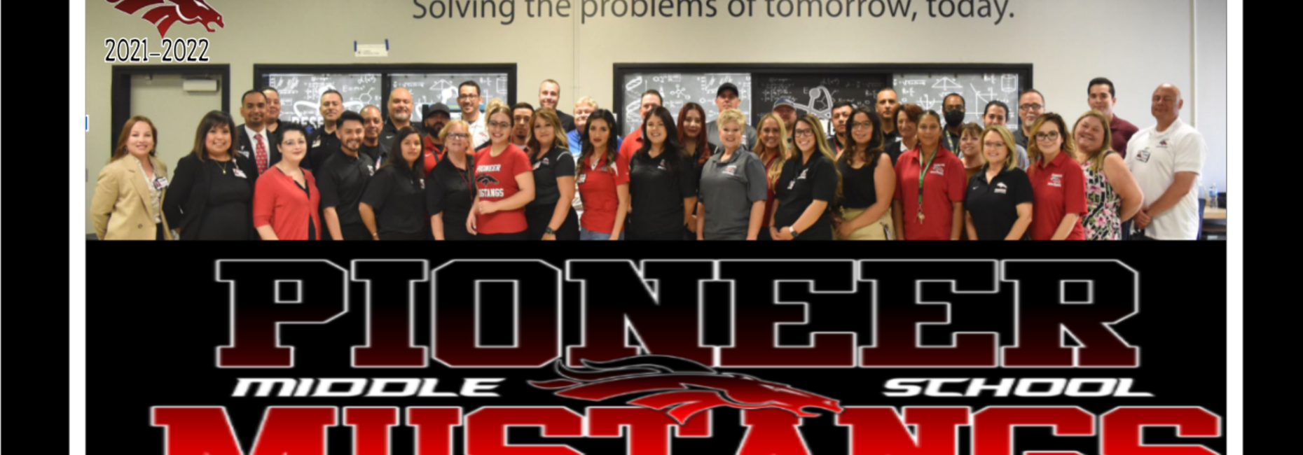 Pioneer Middle School Staff 2021-2022