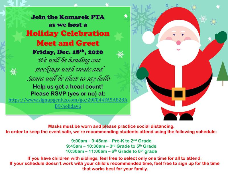 PTA Holiday Celebration Featured Photo