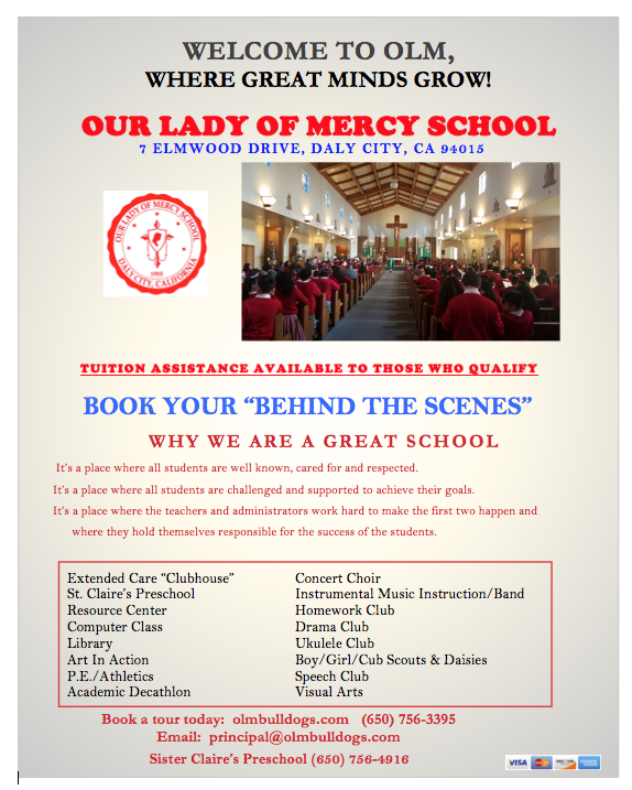Admissions & Fees – Prospective Families – Our Lady of Mercy