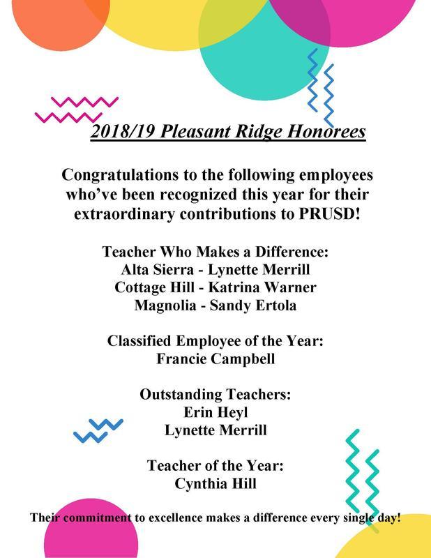 2018-19 Honorees