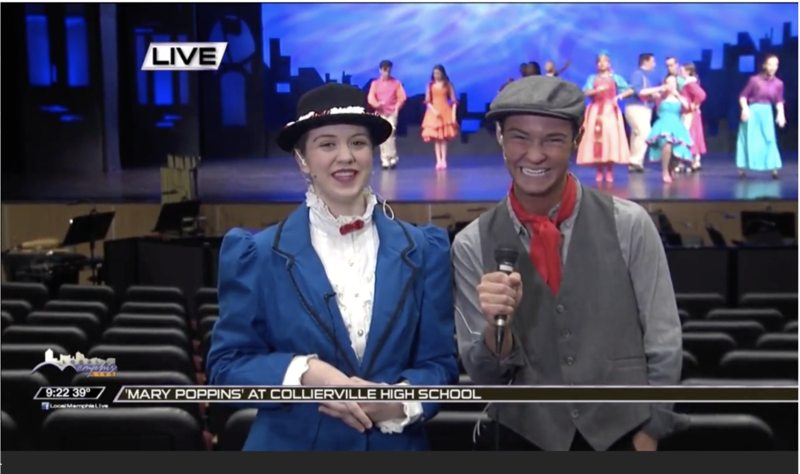 Mary Poppins cast members interviewed on Local Memphis Live Featured Photo