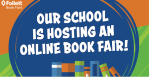 Our school is hosting an online book fair