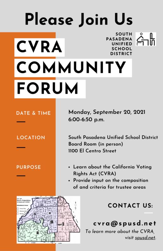 CVRA Community Forum - Please Join Us Featured Photo