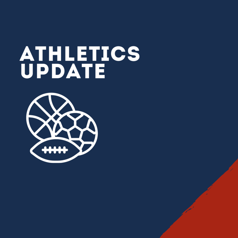 Athletics Update Graphic