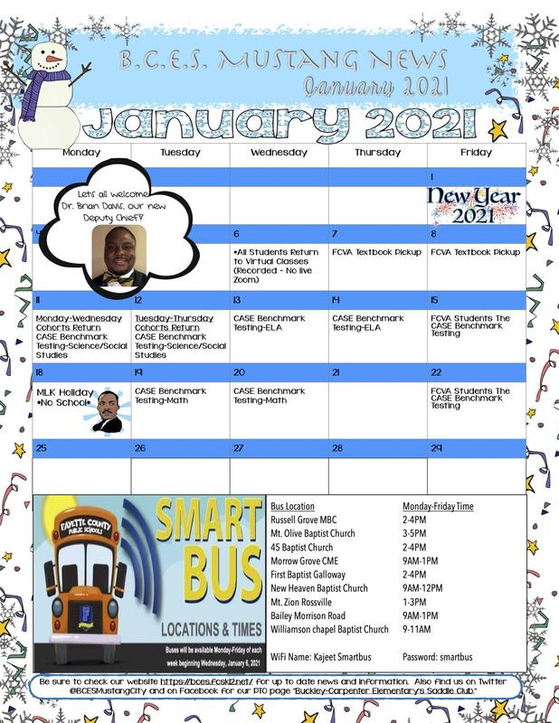 January 2021 Newsletter Thumbnail Image