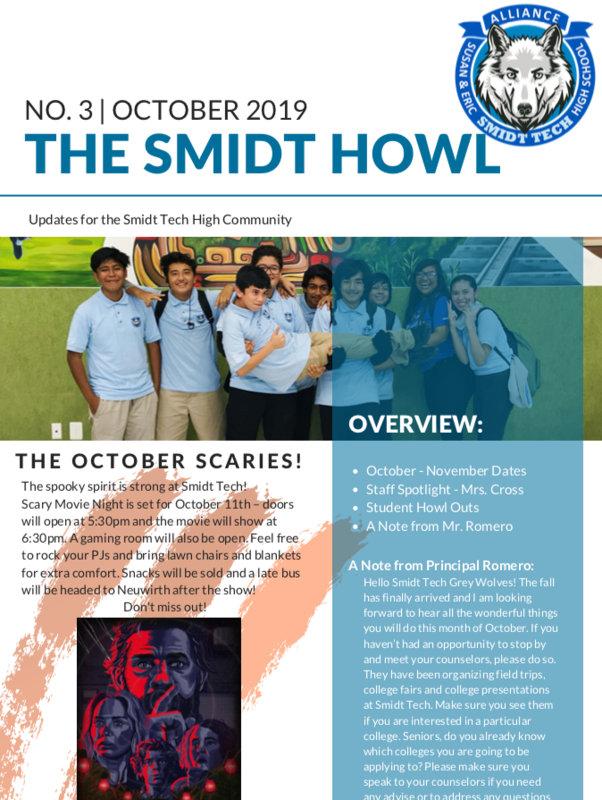 The Smidt Howl - October 2019 Thumbnail Image