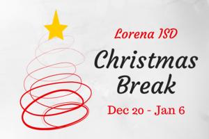 Christmas Break Graphic
