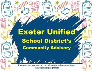 exeter community advisory meeting- upcoming dates