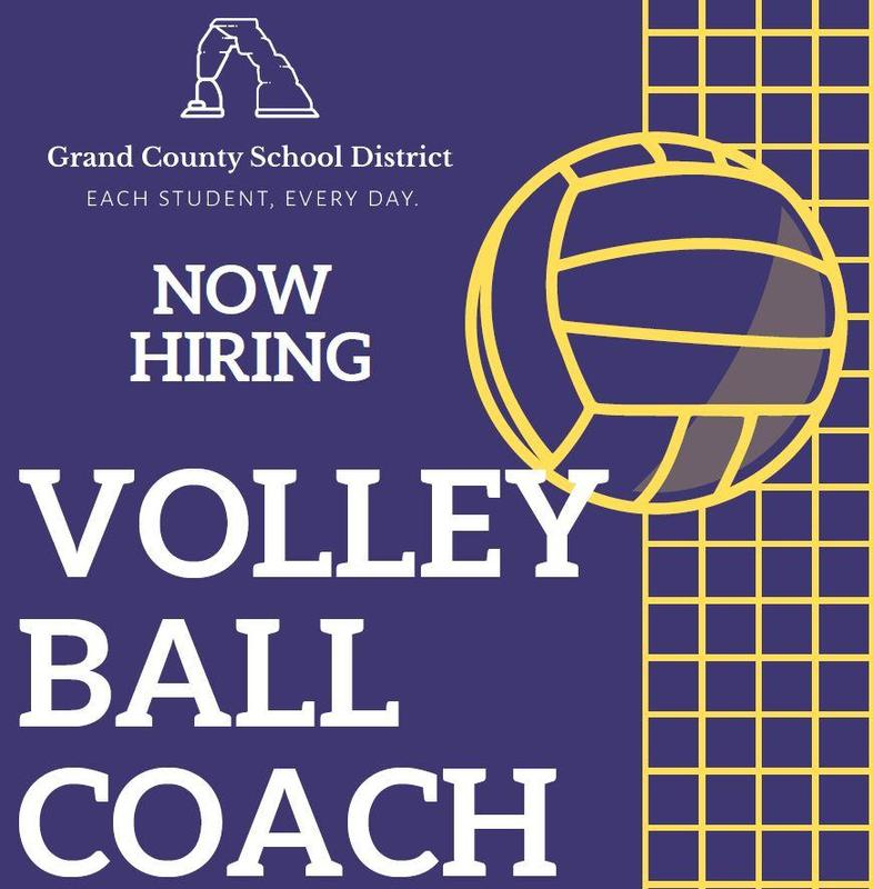 Now Hiring! Volleyball Coach at Grand County High School Featured Photo