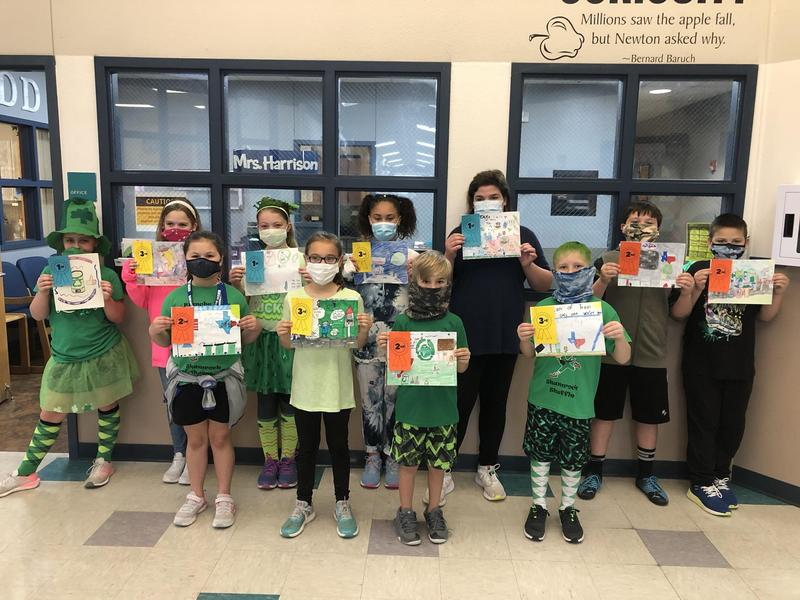 Dodd Students Submit Art to Statewide Contest Featured Photo
