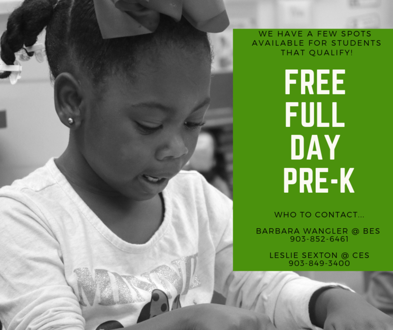 Pre-K Enrollment Now Open! Featured Photo