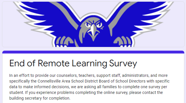 End of Remote Learning Survey Featured Photo