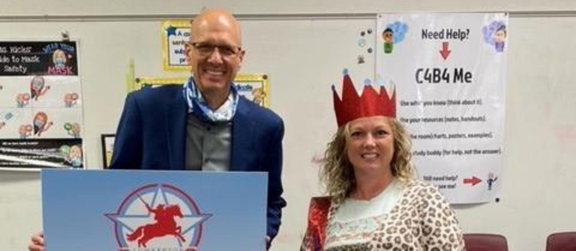 Kati Hicks - LPS Teacher of the Year!