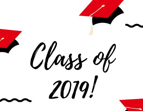 2018-2019 Graduation Information Thumbnail Image