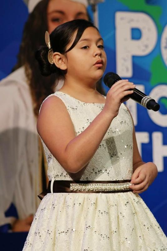 Mia Ayala sings at MCISD's Convocation Featured Photo