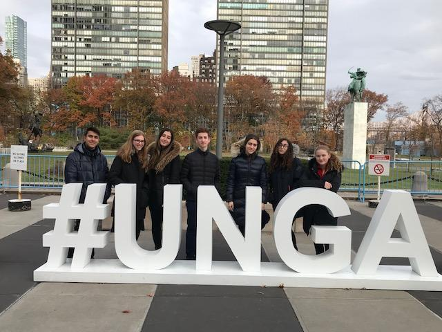 WHHS Scholars at the UNWHHS Scholars at the UN