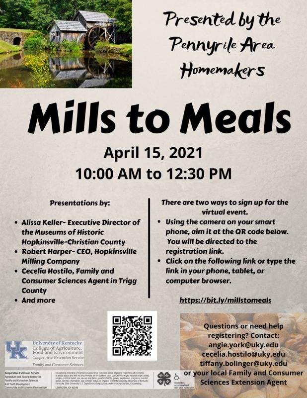 Mills to Meals Featured Photo