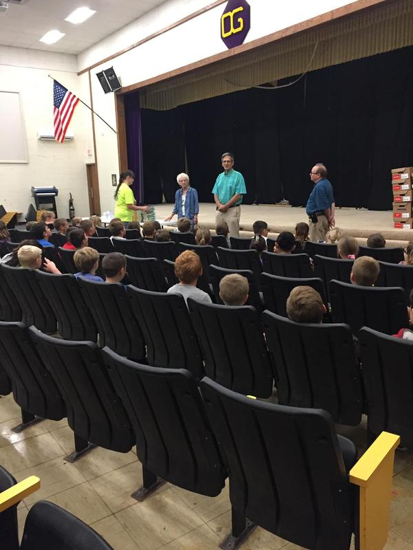 Rotary Club Visits Oak Grove School Featured Photo