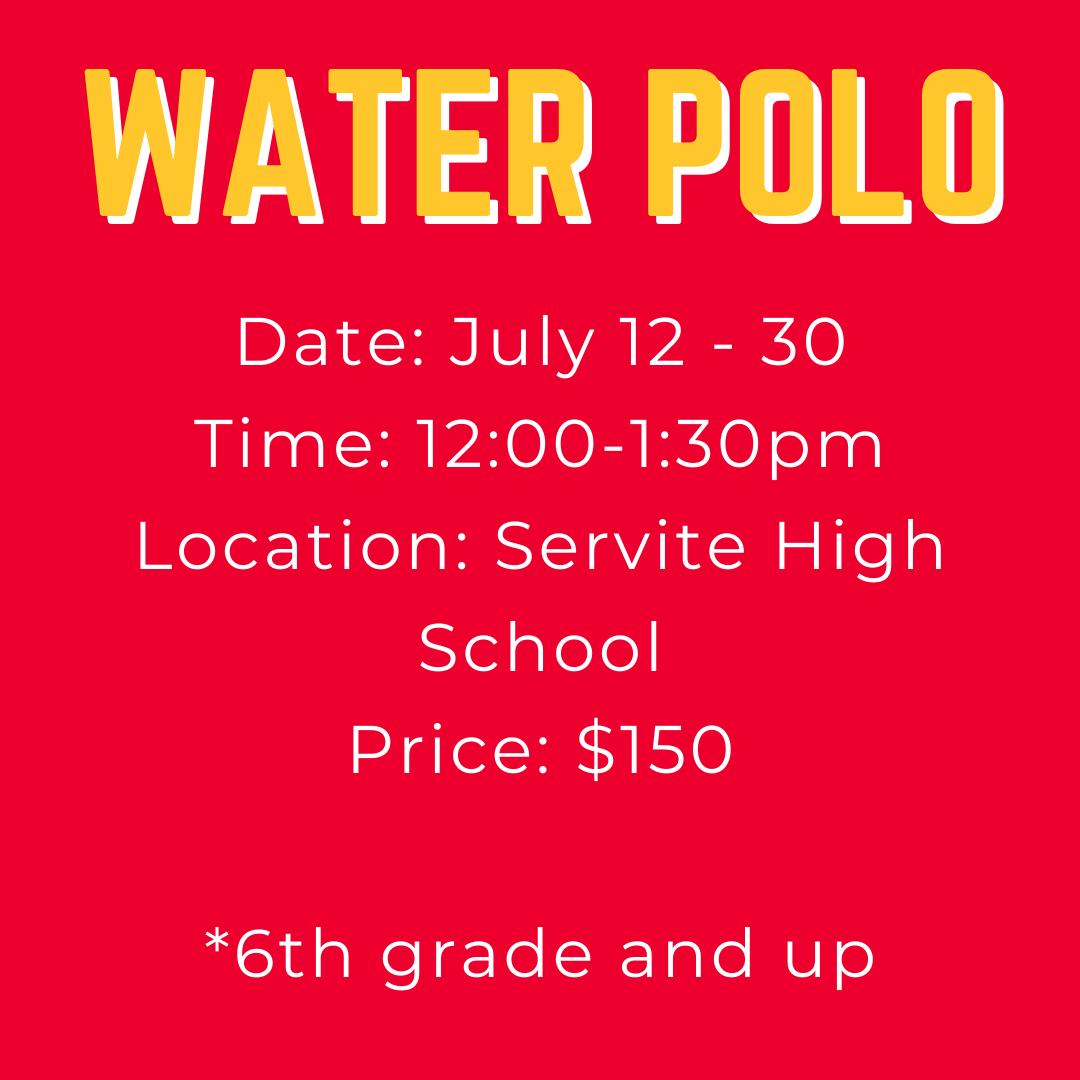 water polo youth camp