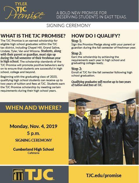 TJC Promise Signing Ceremony Featured Photo