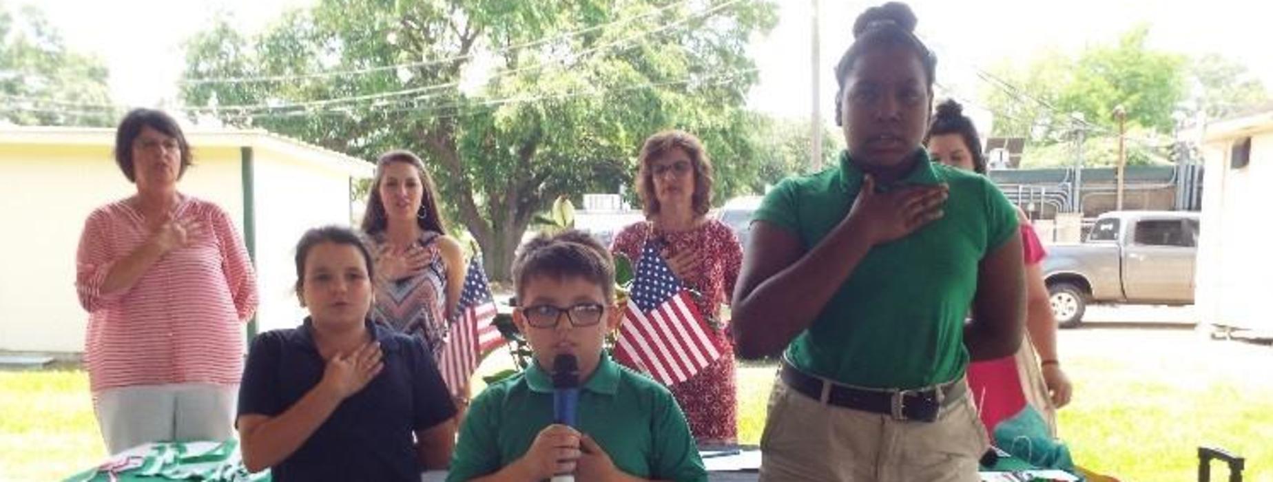 3rd grade pledge