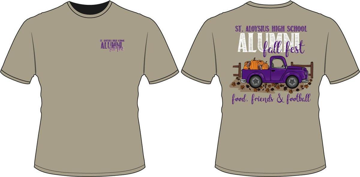 Alumni Fall Fest Logo T-Shirt