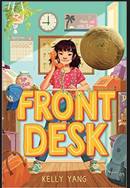 Book Cover Front Desk