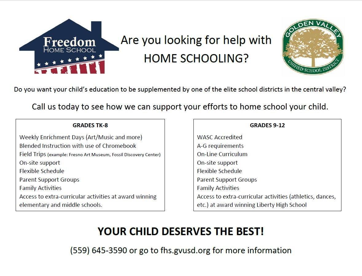 Freedom Home School Image
